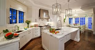 One Wall Kitchen Designs With An Island Traditional Kitchen With Flat Panel Cabinets By Kellie Burke