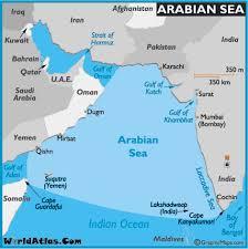 map world seas map of arabian sea arabian sea map world seas arabian sea