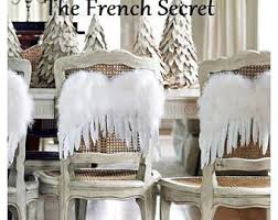 white feather wings ornament decoration shabby
