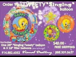 singing birthday balloons birthday singing balloons
