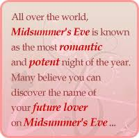 All over the world  Midsummer     s Eve is known as the romantic and potent night of  The original free dating site
