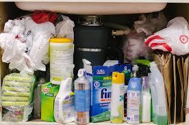 kitchen sink cabinet organizer under the kitchen sink organization diy by lauren m
