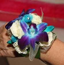 blue orchid corsage corsages bock s floral creations