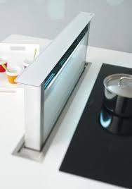 hotte aspirante verticale cuisine hotte plan de travail hotte de plan de travail emb pour cuisine int