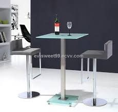 square glass pub table square glass pub table set table designs