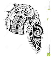 maori style tattoo design for chest and sleeve areas chest and