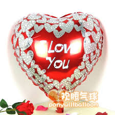 valentines day balloons wholesale 8 best plain foil balloon images on foil balloons