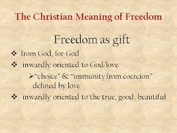 religious liberty conference the christian meaning of freedom