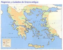 Antigua Map Este Pin Trata De El Mapa De La Antigua Grecia Incluyendo Las