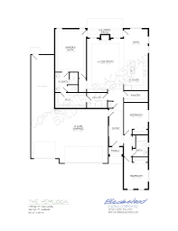 Company Floor Plan by Hemlock Floor Plan 1775 U2013 Blackstead Building Co