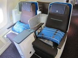Klm Economy Comfort Review Klm Business Class 747 400 Amsterdam To Chicago One Mile