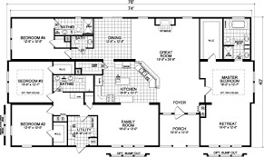 georgia manufactured home floor plans the condor 5764r1 multi
