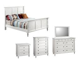 White Bedroom Suites 4 Pce Mary Bedding In White Wash Ash Fortune Furniture