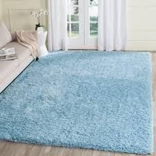 Blue Area Rugs 8 X 10 Safavieh Paris Shag Silver 8 Ft X 10 Ft Area Rug Sg511 7575 8