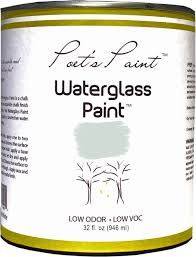what is waterglass paint poet u0027s paint
