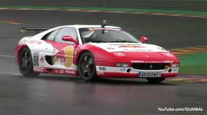 f355 challenge f355 challenge in on a track