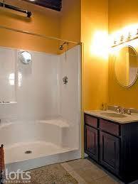 Shower Stall Bathtub Best 25 One Piece Shower Stall Ideas On Pinterest One Piece