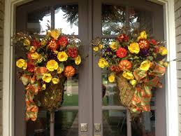 front door outstanding fall decor front door design