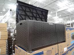 Patio Cushion Storage Furniture Suncast Deck Box Patio Storage Containers Resin