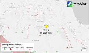 Argonne National Laboratory Map From Temblor U201cm U003d7 1 Earthquake Collapses Buildings In Mexico City