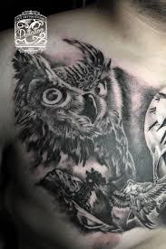 pinterest u0027teki 25 u0027den fazla en iyi owl tattoo chest fikri baykuş