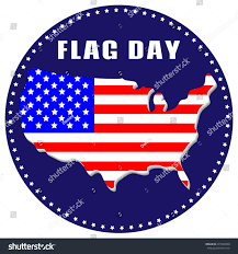 Maps On Us Usa Flag Day Greeting Card Icon Stock Vector 435526699 Shutterstock
