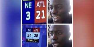 Superbowl Meme - internet sacks falcons with choking memes after super bowl collapse