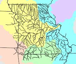 Map Missouri Mohap Missouri Major Rivers Map