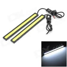 cob led light bar waterproof 6w 220lm 60 led car daytime running light strip bar 14cm