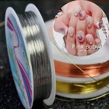 aliexpress com buy 1 roll u003d 20 meters gold silver rolls nail