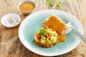cuisiner un dos de cabillaud dos de cabillaud sauce aux crustacés maggi