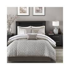Silver Queen Comforter Set Silver Bedding Sets Curtains Tags White And Silver Bedding Set