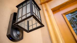 front door security light camera kuna a light fixture and home security system in one top home