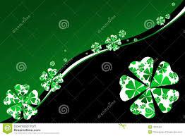 Shamrock Green Shamrock Background In Green And Black Stock Image Image 12325451