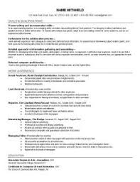 Effective Resume Writing Samples by Examples Of Resumes Web Tech Resume Writing Services Help