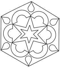 rangoli patterns using mathematical shapes diwali rangoli coloring pages getcoloringpages com