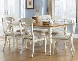 off white dining room set living in context