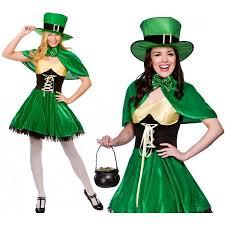 Leprechaun Costume Ladies St Patricks Day Lucky Leprechaun Costume By Doodys