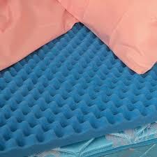 foam for bed convoluted foam egg crate mattress topper