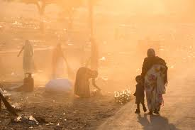 dusty china brett cole photography women sweep up and burn garbage on a