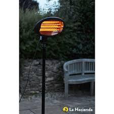 Electric Patio Heaters by La Hacienda Patio Heater Adjustable Standing 2000w At Wilko Com