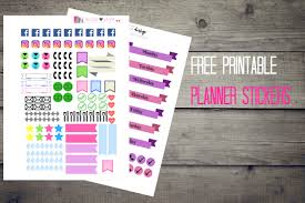 printable bullet journal planner free printable planner stickers the petite planner