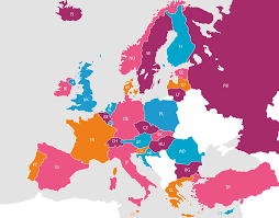 Eu Countries Map Participating Countries Participating Countries Eu Kids Online