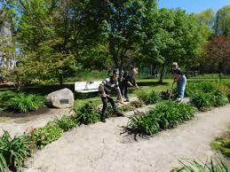 Botanical Gardens Volunteer by Volunteer Thanks U2013 Kincardine Labyrinth Peace Garden