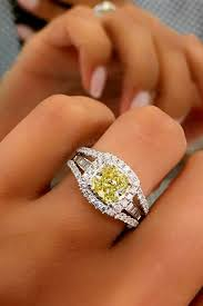 yellow engagement rings 33 cushion cut engagement rings which give a shine oh so