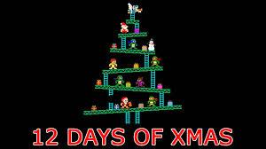 christmas 8 bit 12 days of xmas youtube