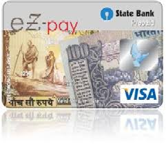 bank prepaid cards state bank ez pay card sbi corporate website