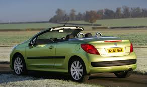 peugeot 207 cc 2007 2014 features equipment and accessories