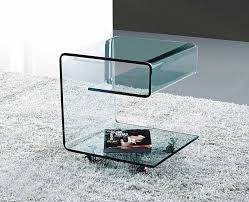 Glass Side Table Unique Modern Side Tables With Modern Glass Side Table Ginosa