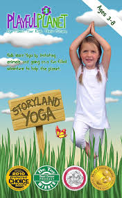 amazon com storyland yoga yoga for kids and families ages 3 to
